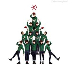 "awesome EXO to add to the holiday cheer with new song ""December, 2014″"