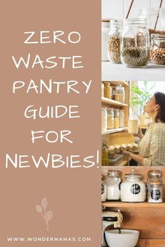 A full guide on how to go zero waste in the pantry! Buy Mason Jars, Bulk Store, Grocery Basket, Coffee Maker Machine, Wax Wraps, Nut Allergies, Produce Bags, Baking Ingredients, Zero Waste