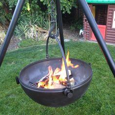 Cowboy Cauldron fire pit.