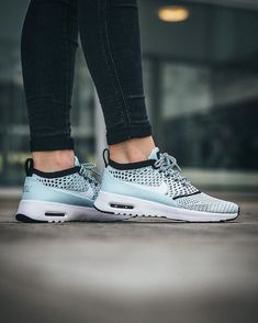 the best attitude d7ff0 4c760 Nike Wmns Air Max Thea Ultra Flyknit  Glacier Blue White