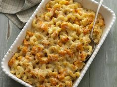 Recipe Butternut and bacon macaroni cheese by Thermomix in Australia, learn to make this recipe easily in your kitchen machine and discover other Thermomix recipes in Pasta & rice dishes. Pasta Recipes, New Recipes, Dinner Recipes, Cooking Recipes, Dinner Ideas, Macaroni Pasta, Macaroni Cheese, Macaroni And Cheese, Rice Dishes