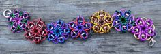 Patchwork Principles Chainmaille Bracelet Kit by redeftdesigns