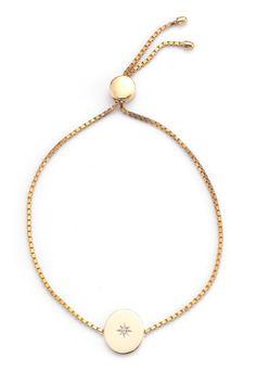 Estrella Adjustable Bracelet, Gold