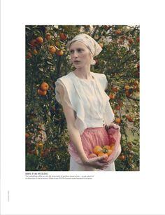 Julia Nobis By Stephan Ward For Vogue Australia October 2013