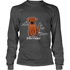 Limited Edition Lab LABRADOR Retriever Dog Dad Mom Lady Man Men Women Woman Wife Girl Boy Lover  Long Sleeve Tees T-Shirts, Hoodies ==►► Click Image to Shopping NOW!