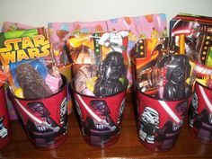 Favors at a Star Wars Party #starwars #partyfavors