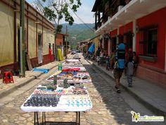 Find more cool photos and come along for a walk through the beautiful, colonial town of Copan, Honduras. http://travelexperta.com/2011/09/copan-ruins-the-main-town.html #honduras #copantown