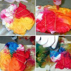Tie dye with my man :) Fun date idea