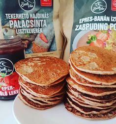 Szafi Free fahéjas-almás quinoa müzlis tojásmentes amerikai palacsinta, vegán proteines amerikai palacsinta és quinoa pelyhes almás amerikai palacsinta(gluténmentes, tejmentes, szójamentes, hozzáadott cukortól mentes, vegán) – Éhezésmentes karcsúság Szafival Quinoa, Pancakes, Breakfast, Food, Morning Coffee, Eten, Meals, Pancake, Morning Breakfast