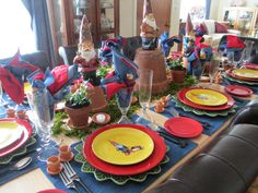 The Welcomed Guest: Gnome Tablescape