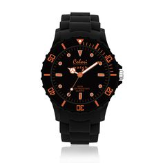 #ColoriWatch - Neon nights - Colori watches are beautifully designed and inspired by seasonal colours and fashion trends. Comfortable silicone straps combined with high precision Japanese quartz movement guarantee an uncomplicated pleasure.