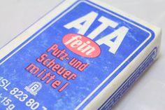 Original DDR Original DDR ATA Putz-und Scheuermittel in ungeöffneter Originalverpackung!  Streupulver hergestellt in der DDR: VEB Waschmittelwe...