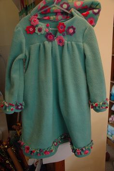 Make it Perfect dress in fleece