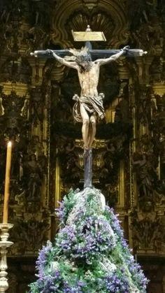 Cristo del Amor , Iglesia del Salvador, Sevilla Cathedral Church, Holy Cross, Jesus Cristo, Corpus Christi, Salvador Dali, Galveston, Crucifix, San Antonio, Fountain