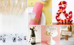 6 Clever Engagement Party DIYProjects