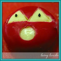 Baybel Jack-o-lantern - Loving Lunches: October 2012