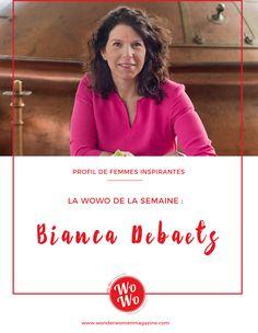 La Wonder Women de la semaine : Bianca Debaets