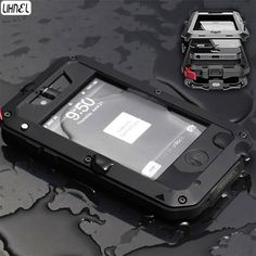Military Waterproof Case For iPhone 4 4s Carrying Shockproof Cover Protection #Unbranded