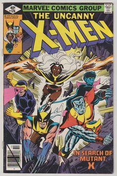 Uncanny X-Men Vol 1 126 Bronze Age Comic by RubbersuitStudios #xmen #mutantx #comicbooks