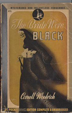 The Bride Wore Black, Cornell Woolrich, Pocket Books