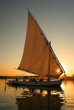 Dusk on the Nile
