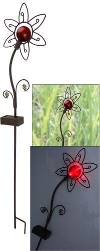 Cheerful Flower Solar Garden Stake at The Animal Rescue Site