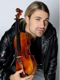 Picture of David Garrett-- beautiful violin artist (he is truly an artist and not just a player)