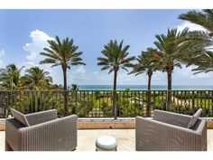The best view of the ocean and beach in the whole city. Miami Beach, FL Coldwell Banker Residential Real Estate