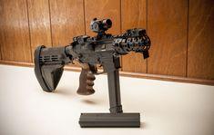 "9mm AR Pistol w/ Silencerco and ""Brace Stabalizer"" -  Double Diamond 9mm Lower Receiver -VLTOR 9mm AR Upper"