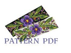 Beadweaving pattern PATTERN PDF Pattern for bracelet by MLivista, $5.00