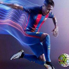 Uniforme pra temporada 2016/2017 #neymar#neymarjr#njr11 #barcelona