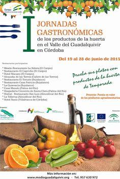 La Crónica del Alto Guadalquivir: Once restaurantes de la Vega del Guadalquivir ofre...