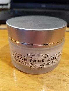 5 Stars: CalilyLife Organic Argan Face Cream with Dead Sea Minerals 1.7 Oz.  I've tried Calily Life products previously and I loved them. I use a light moisturizer during the day with SPF and at night I use a thicker face cream to really moisturize my skin. I'm convinced that is why I look 15 years younger than I actually am (I turned 37 in August 2016).  The cream has a thick consistency and a lightly floral scent.  It rubbed in quickly and left my skin feeling immediately soft and supple…