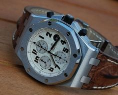 Audemars Piguet Royal Oak Offshore 'Safari' Chronograph <3 (Click on photo for larger image.)