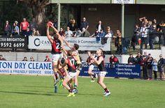 Saturday April 15 Sandringham v Essendon Trevor Barker Oval, 2pm - TBell gets hands to the ball