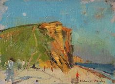 Richard Pikeley: Moon Rising, West Bay.