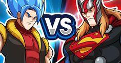 Goffu vs SuperThor - Batalha dos Deuses