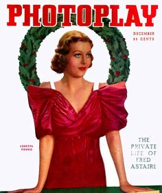 Loretta Young on Photoplay Dec 1935