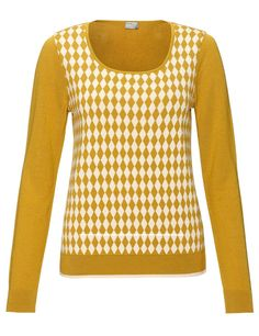 Ochre Diamond Jumper | Mantu | Avenue32