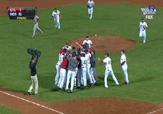 (Photos) MLB: The Boston Red Sox Win The 2013 World Series!!!!- http://getmybuzzup.com/wp-content/uploads/2013/10/211318-thumb.jpg- http://getmybuzzup.com/photos-mlb-the-boston-red-sox-win-the-2013-world-series/-  By Joe Casey Congratulations to the Boston Red Sox for winning the 2013 World Series. Leave it to sports to bring a city together that went through a tragedy, like the city of Boston did earlier this year with the marathon bombing. The Red Sox dominated the St. Loui