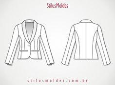 dicas de moldes de blazer feminino