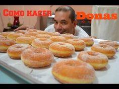 CHUCHEMAN como hacer Donas - Recetas mexicanas - YouTube