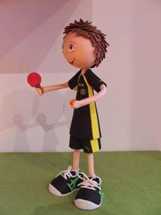 Manualitats Eva's: Selecció Catalana Ping pong