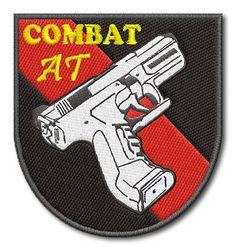 Naszywka Agencja Ochrony Combat AT
