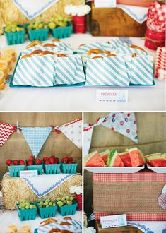 {Amazing!} Rustic  Vintage County Fair First Birthday