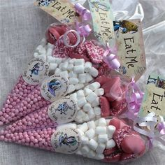 If youre having a Mad Hatter Party, why not treat your guests with a yummy sweet cone. Its personalised too, to make it extra special.