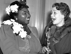 Two cinema greats - Hattie McDaniel and Thelma Ritter