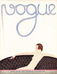 VOGUE COVERS André Édouard Marty, 1930