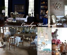 Some photos from the new book, Carolyn Westbrook: A Romance with French Living available at www.amazon.com.