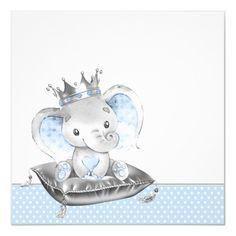 Baby Boy Art, Baby Shawer, Baby Shower Invitations For Boys, Baby Shower Themes, Baby Shower Centerpieces, Baby Shower Decorations, Baby Shower Nails Boy, Dibujos Baby Shower, Elephant Theme